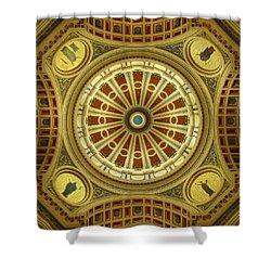 Shower Curtain featuring the photograph Rotunda by Joseph Skompski