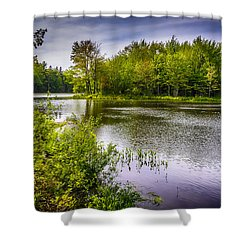 Round The Bend 35 Shower Curtain