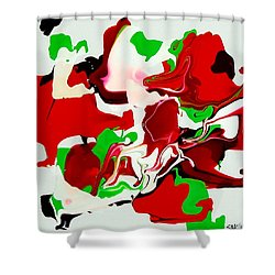 Roundabout Shower Curtain