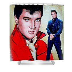 Roustabout Color Shower Curtain by Andrew Read