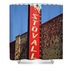 Route 66 - Stovall Theater Shower Curtain by Frank Romeo