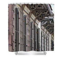 Row Of Houses Shower Curtain