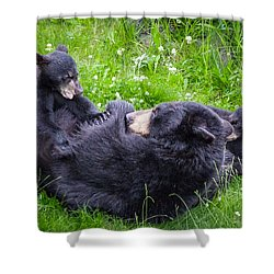 Rowr Mama Rowr Shower Curtain