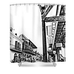 Royal Afternoon Monochrome Shower Curtain by Steve Harrington
