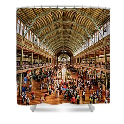 Royal Exhibition Building IIi Shower Curtain by Ray Warren