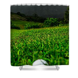 Shower Curtain featuring the photograph Royal Hawaiian Golf by Angela DeFrias