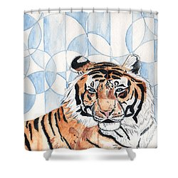 Royal Mysticism  Shower Curtain