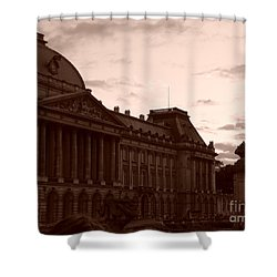 Royal Palace Brussels Shower Curtain