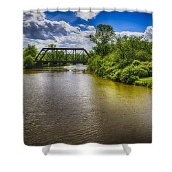 Royal River Shower Curtain