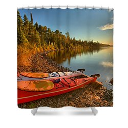 Royale Sunrise Shower Curtain