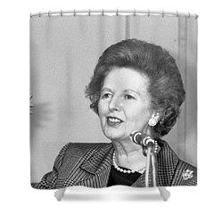 Rt.hon. Margaret Thatcher Shower Curtain