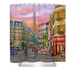 Rue Paris Shower Curtain