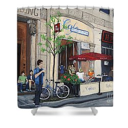 Rue Peel Shower Curtain