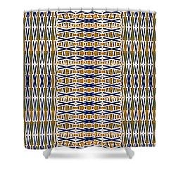 Shower Curtain featuring the digital art Rug by Darla Wood