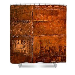 Rugged Cross Shower Curtain
