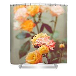 Shower Curtain featuring the photograph Rumba Rose by Ari Salmela