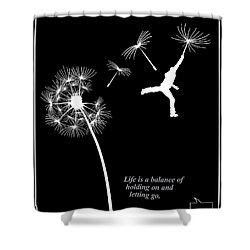 Rumi Inspirational Quote Shower Curtain