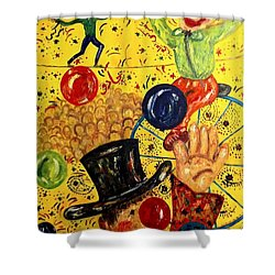Run Away With A Circus Shower Curtain