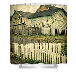 Rundown Shacks Shower Curtain by Jill Battaglia