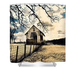 Rural Americana #2 Shower Curtain