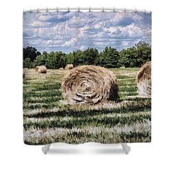 Rural Georgia Shower Curtain by Linda Blair