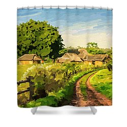 Rural Home Shower Curtain