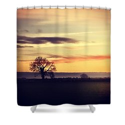 #rural #sky #skylovers #clouds Shower Curtain