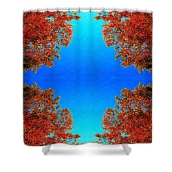 Shower Curtain featuring the photograph Rust And Sky 1 - Abstract Art Photo by Marianne Dow