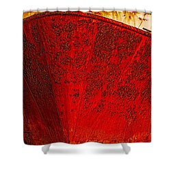 Rust Bucket Shower Curtain
