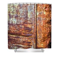 Rust Rules Shower Curtain by Steve Harrington