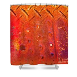 Rusted Glory 10 Shower Curtain by Desiree Paquette