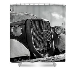 Shower Curtain featuring the photograph Rustic Beauty by Micki Findlay