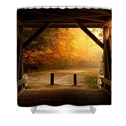 Rustic Beauty Shower Curtain