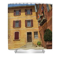 Shower Curtain featuring the photograph Rustic Charm by Pema Hou