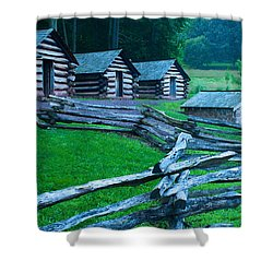 Rustic Life Shower Curtain by Michael Porchik