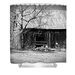 Rustic Tennessee Barn Shower Curtain by Phil Perkins