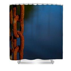 Rusty 4 Shower Curtain by Karol Livote