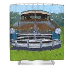 Rusty Hudson Shower Curtain
