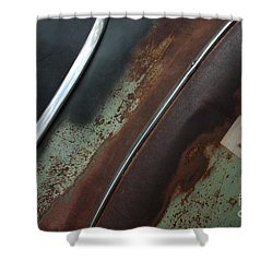 Shower Curtain featuring the photograph Rusty Rat by Christiane Hellner-OBrien
