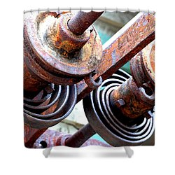 Rusty Relics Shower Curtain