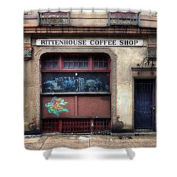 Rusty Rittenhouse Shower Curtain