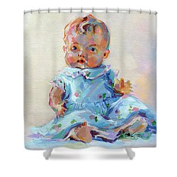 Ruthie Shower Curtain by Kimberly Santini