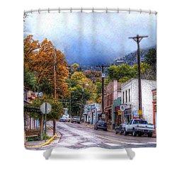 Ruxton Avenue Shower Curtain by Lanita Williams