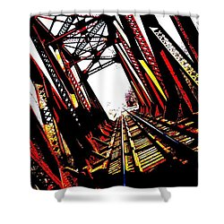 Rxr Bridge Polarized Shower Curtain