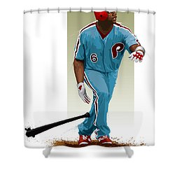 Ryan Howard Shower Curtain