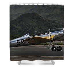Ryan Pt-22 Recruit Shower Curtain by Michael Gordon