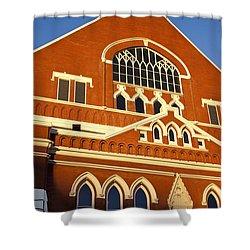 Ryman Auditorium Shower Curtain by Brian Jannsen