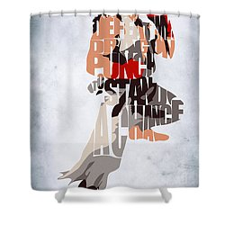 Ryu - Street Fighter Shower Curtain