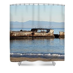 S. S. Palo Alto Shower Curtain