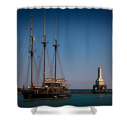 s/v Peacemaker II Shower Curtain